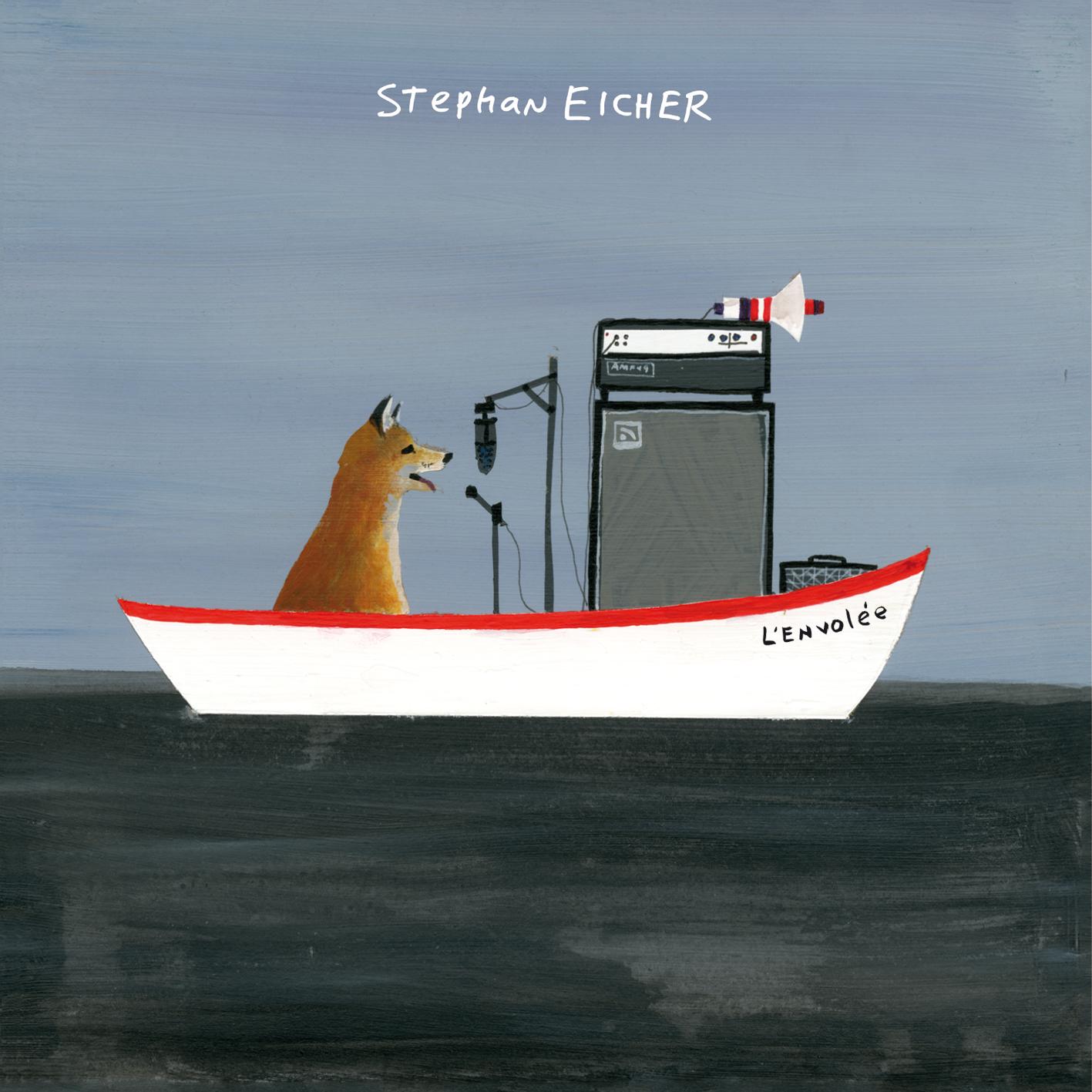 Cover Eicher-L'envolee © Michael Dumontier, Neil Farber