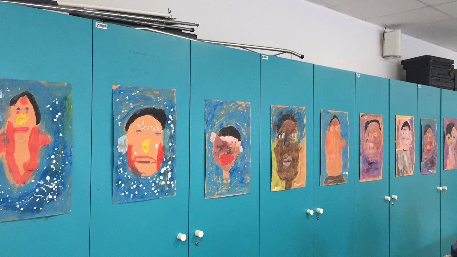 portraits patrick résidence en milieu scolaire