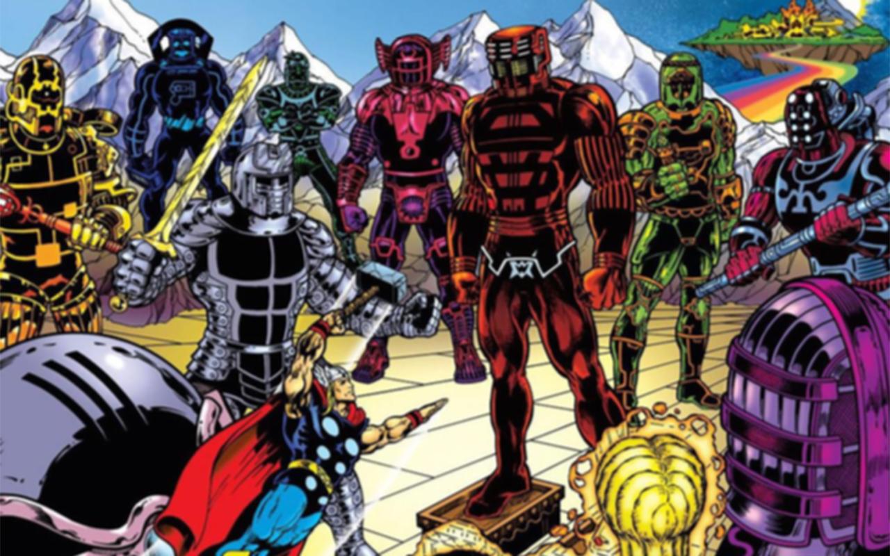 L'encyclopédie des super héros