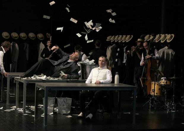 LE SYSTEME DE PONZI (David LESCOT) 2012